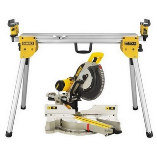 DEWALT DWS780 XPS 305MM DOUBLE BEVEL MITRE SAW 240V + DE7033 COMPACT LEGSTAND