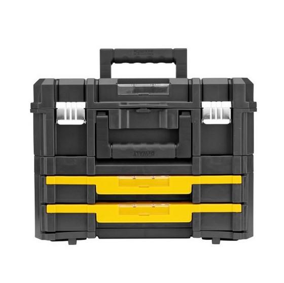 Dewalt Dwst1-70702 Tstak Combo 2 + 4 Tool Storage Box And 2 Drawer Storage Unit  sc 1 st  Anglia Tool Centre & Dewalt Dwst1-70702 Tstak Combo 2 + 4 Tool Storage Box And 2 Drawer ...