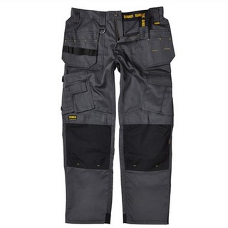 DEWALT PRO TRADESMAN TROUSERS 33 INCH LEG GREY/BLACK