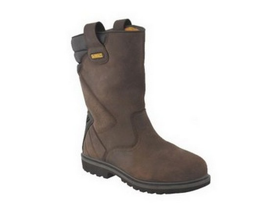 DEWALT SAFETY RIGGER BOOT BROWN SIZE 07 **vat is not charged on this product**