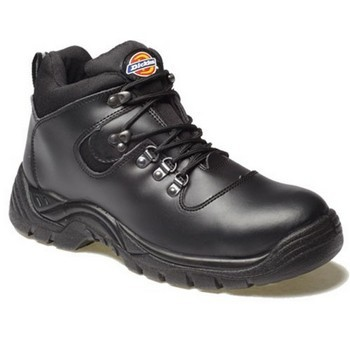 DICKIES FA23380A FURY SAFETY HIKER BOOTS SIZE 10 BLACK