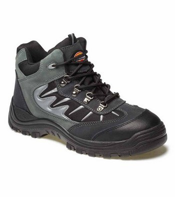 DICKIES FA23385A STORM SAFETY TRAINERS GREY (SIZE 7)