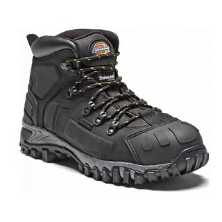 DICKIES FD23310 MEDWAY SUPER S3 SAFETY BOOT BLACK (SIZE 9)