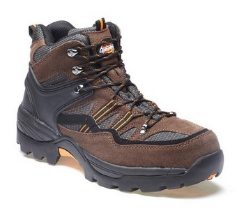 DICKIES FD23380 EPSOM SUPER SAFETY HIKER WORK BOOT BROWN (SIZE 10)