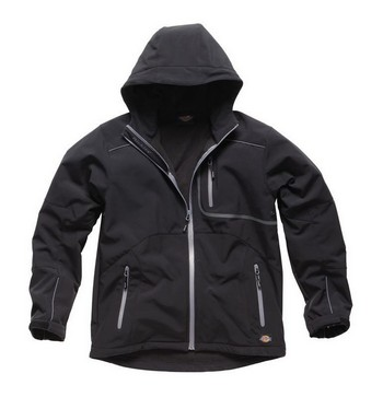 DICKIES JW30000 WATERPROOF MELBOURN JACKET BLACK