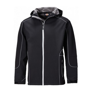 DICKIES JW7050 HARLINGTON JACKET BLACK (LARGE)