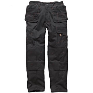 DICKIES WD801 REDHAWK PRO TROUSERS BLACK (32W, 32L)