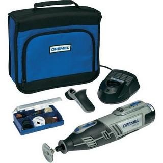 DREMEL 8200-1/35 MULTI-TOOL WITH 35 ACCESSORIES & ATTACHMENT IN SOFT BAG