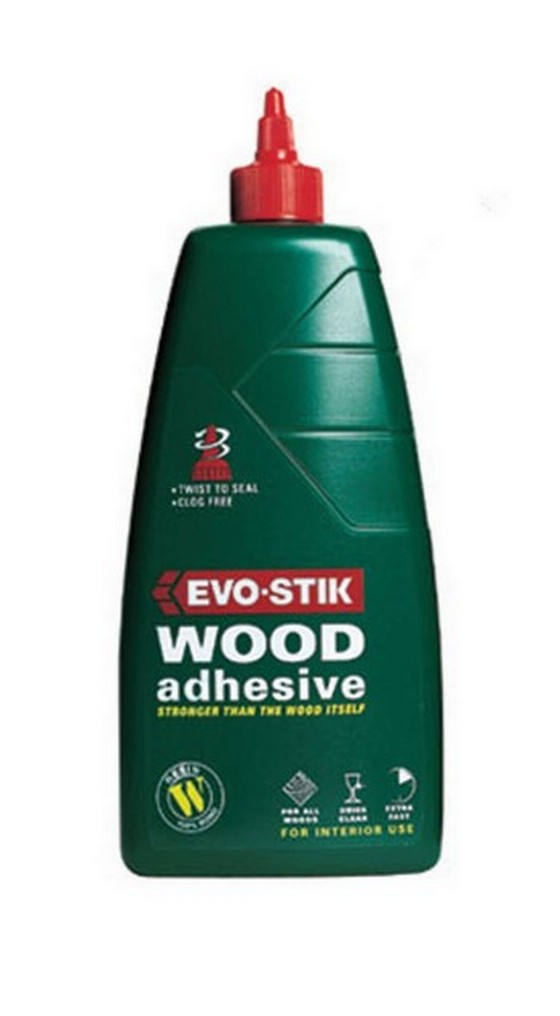 Evo-Stik 715615 Extra Fast Wood Glue Resin 1 Litre