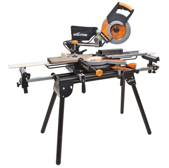 Evolution Adjustable Mitre Saw Stand Anglia Tool Centre