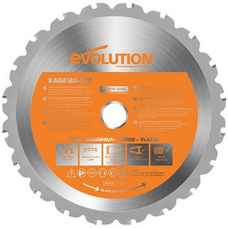 EVOLUTION MULTI-PURPOSE BLADE 185MM