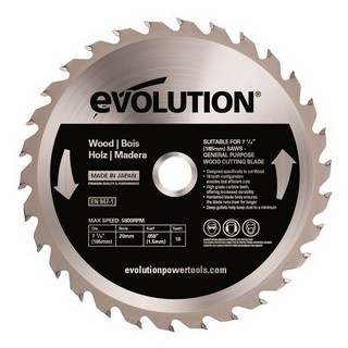 EVOLUTION WOOD BLADE 185MM