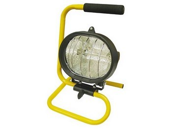 FAITHFULL FPPSL150CP POWER PLUS PORTABLE 150 WATT SITE LIGHT 240V