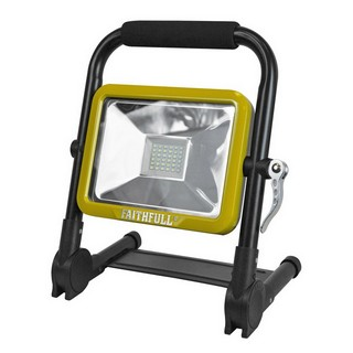 FAITHFULL XMS16FOLD20W FOLDING RECHARGEABLE SITE LIGHT 20W