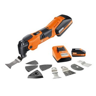 FEIN AFMM 18 18V MULTIMASTER WITH 2X 2.5AH LI-ION BATTERIES + 17 ACCESSORIES