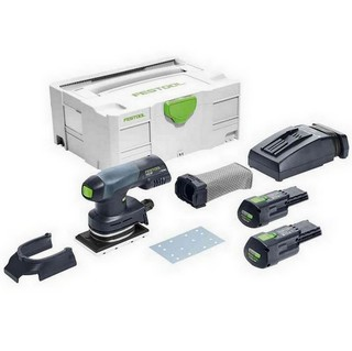 FESTOOL 201514 RTSC400-3.1-PLUS-GB ORBITAL SANDER WITH 2X3.1AH ERGO LI-ION BATTERIES
