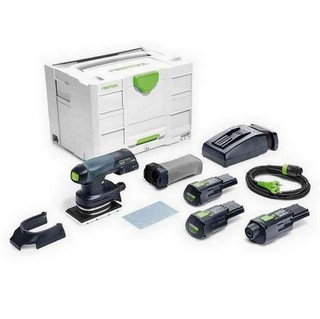 FESTOOL 201515 RTSC400-3.1-SET-GB ORBITAL SANDER WITH 2X3.1AH ERGO LI-ION BATTERIES