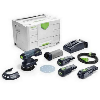 FESTOOL 201529 ETSC125-3.1-SET-GB ECCENTRIC SANDER WITH 2X3.1AH ERGO LI-ION BATTERIES