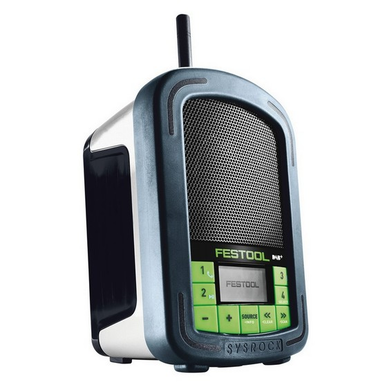 festool 202112 br10 dab bluetooth construction site radio. Black Bedroom Furniture Sets. Home Design Ideas