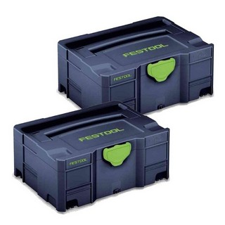 FESTOOL 204534 SYSTAINER T-LOC SPECIAL EDITION BLUE SYS 2 TL B (PACK OF 2)