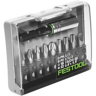 FESTOOL 493262 10 PIECE DRILL BIT SET