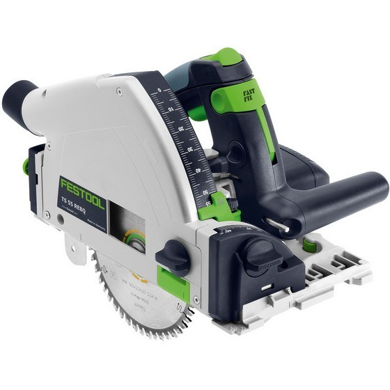 FESTOOL 561553 TS55 REBQ-PLUS GB CIRCULAR SAW 240V (NO RAIL)