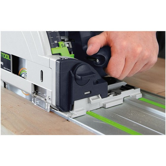 FESTOOL 561583 TS55REBQ/ KIT 160MM PLUNGE SAW 240V WITH 2X 1.4M RAILS, 2X CONNECTORS, RAIL CASE AND T-LOC CASE