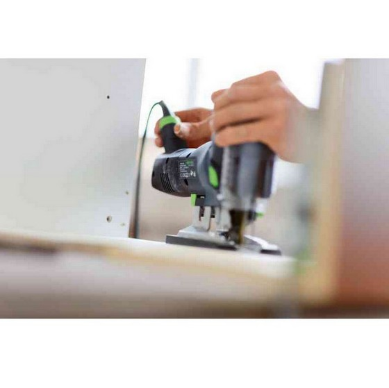 FESTOOL 561589 PS 420 EBQ GB BODY GRIP CARVEX JIGSAW 110V SUPPLIED IN T-LOC CASE
