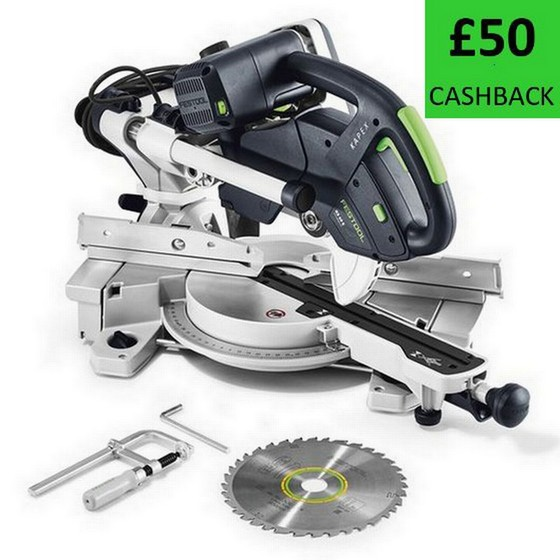 FESTOOL 561684 KAPEX KS 60 E SLIDING COMPOUND MITRE SAW 240V