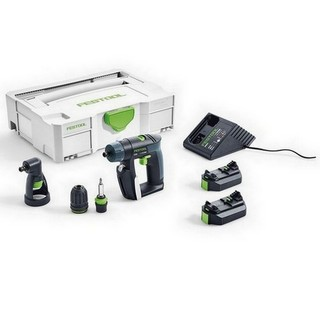 FESTOOL 564533 CORDLESS 10.8V CXS DRILL DRIVER 2,6-SET GB WITH 2.6AH LI-ION BATTERY