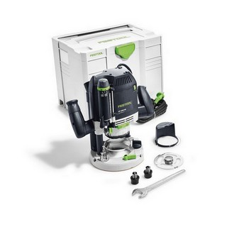 FESTOOL 574352 2200W OF2200 EB-PLUS 1/2IN ROUTER 240V SUPPLIED IN T-LOC SYSTAINER CASE