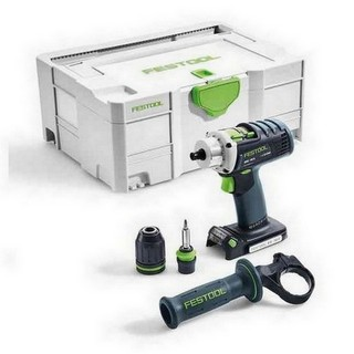 FESTOOL 574695 DRC-18/4-LI-BASIC PERCUSSION DRILL (BODY ONLY)