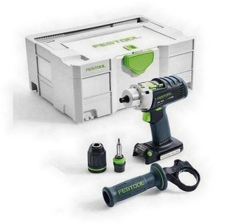 FESTOOL 574701 PDC-18/4-LI-BASIC PERCUSSION DRILL (BODY ONLY)