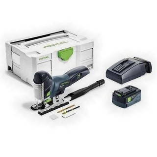 FESTOOL 574710 PSC420 LI 5,2 EB-PLUS 18V CARVEX BODYGRIP JIGSAW WITH 5.2AH AIRSTREAM BATTERY SUPPLIED IN T-LOC CASE