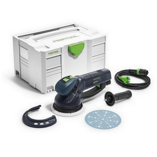 FESTOOL 575072 ROTEX RO150 FEQ-PLUS SANDER AND POLISHER 240V SUPPLIED IN T-LOC CASE