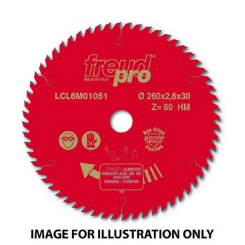 FREUD LCL6M01062 PRO CIRCULAR SAW BLADE 165mm X 20mm X 24 TOOTH