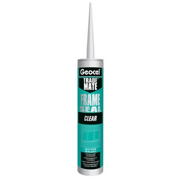 GEOCEL 2868512 TRADE MATE SILICONE FRAME SEAL 310ML CLEAR