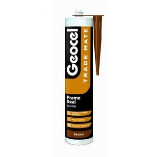 GEOCEL 2940353 TRADE MATE SILICONE FRAME SEAL 310ML BROWN