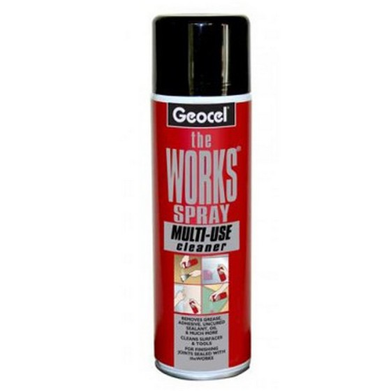 GEOCEL 6001559 THE WORKS SPRAY 500ML