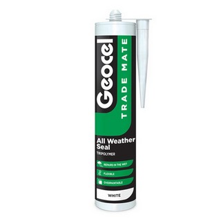 GEOCEL TRADE MATE ALL WEATHER MATE SILICONE SEALANT CLEAR 310ML