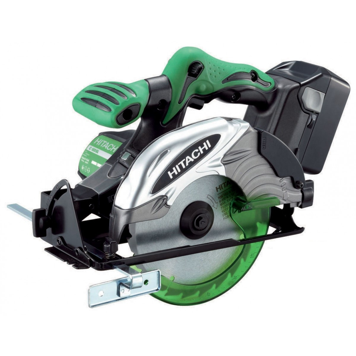 HITACHI C18DSL/JJ 18V CIRCULAR SAW 2X 5.0AH LI-ION BATTERIES