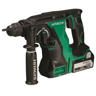 HITACHI DH18DBL/JP 18V BRUSHLESS SDS HAMMER DRILL 2X 5.0AH LI-ION BATTERIES