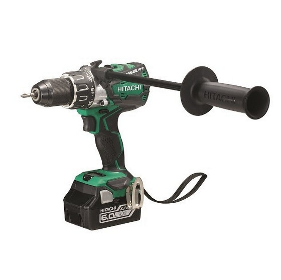 HITACHI DV18DBXL/JX 18V BRUSHLESS COMBI WITH 2X6.0AH LI-ION BATTERIES