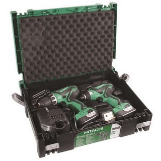 HITACHI KC10DFL2/JP 10.8V DRILL TWIN PACK