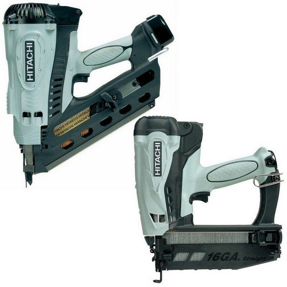 Hitachi Nr90gc2 Amp Nt65gs Nailer Twin Pack Anglia Tool Centre