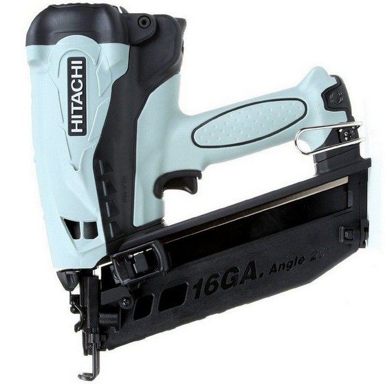 HITACHI NT65GB 3.6V 2ND FIX ANGLED BRAD NAILER 2X 1.5AH LI-ION BATTERIES