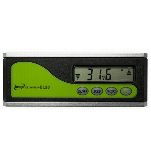 IMEX EL20 EL 160MM PRO DIGITAL LEVEL WITH MAGNETIC BASE
