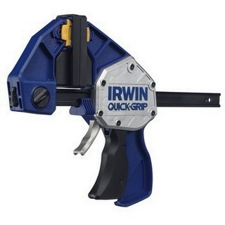 IRWIN Q/GXP12TWIN TWIN PACK OF XTREME PRESSURE ONE HANDED BAR CLAMPS 300MM
