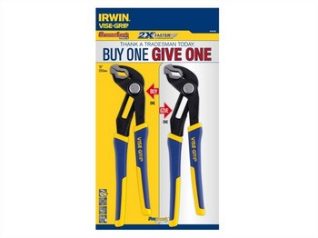 IRWIN VIS1840438 FAST RELEASE VICE GRIP GROOVELOCK PLIERS 10 INCH (PACK OF 2)