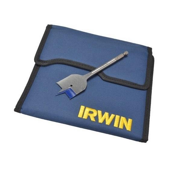 bf6fc7fc007 Irwin Xms18fbit17 17 Piece 4x Flat Wood Drill Bit Set - Anglia Tool ...